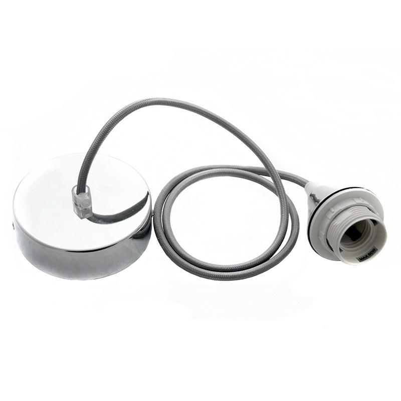 Bushing with ring E27/1m/silver -BH522