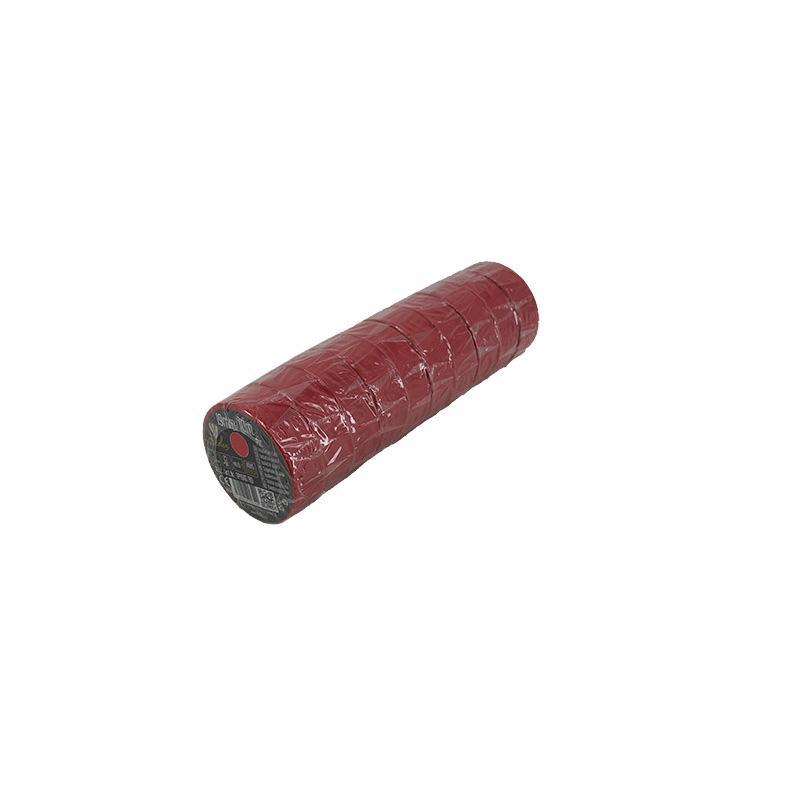 Insulation tape 19mm/10m red -TP1910/RD