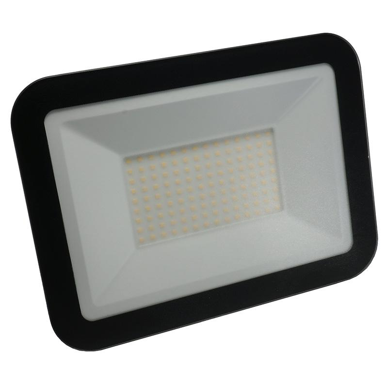 LED HQ floodlight 100W/4000K/BK - LF2025