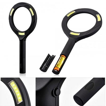 Magnifying glass 3xZOOM with LED light - LM101