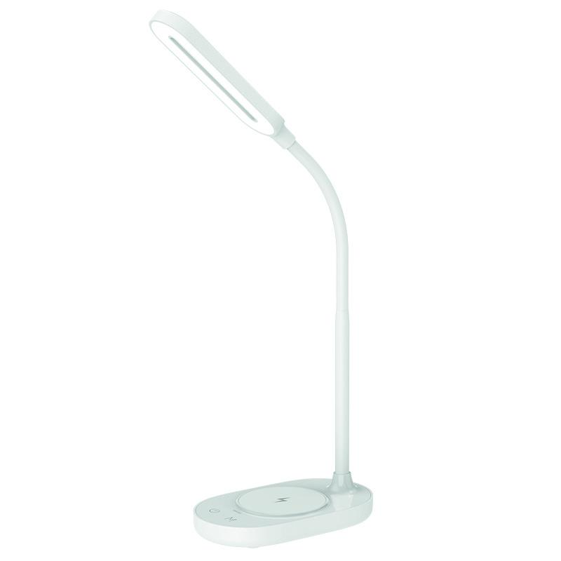 LED desk lamp OCTAVIA 7W dimming, wireless charging - DL4301/W