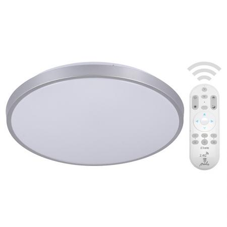 LED remote ceiling light OPAL 24W/CLR0/RC/SI - LC800A/SI