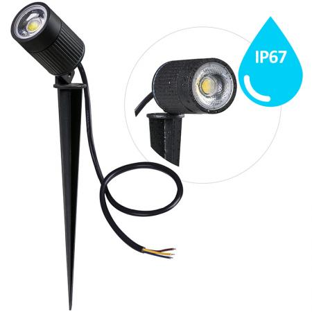 LED garden light 7W/IP67 GL522/2800K - LGL413