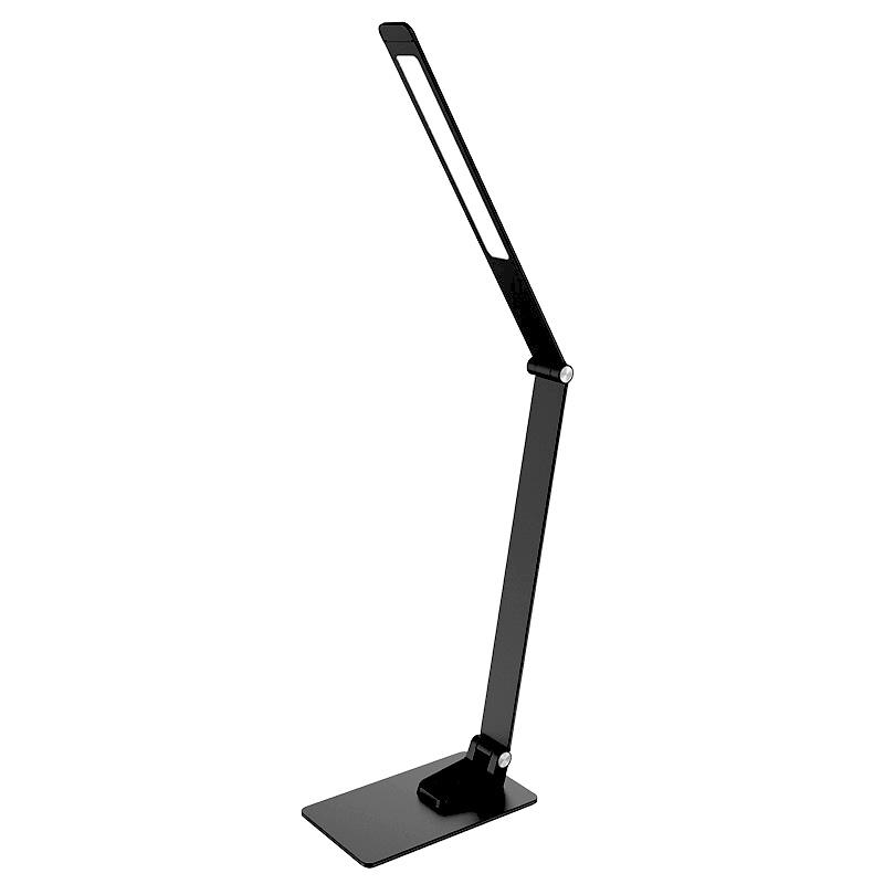 LED desk lamp FRIDA dimming, timer, USB 12W - DL5302/B