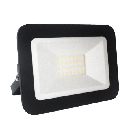 LED HQ floodlight 20W/4000K/BK - LF2022