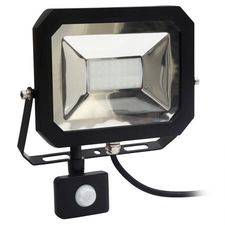 LED floodlight + PIR sensor 30W/4000K/SE - LF1023S