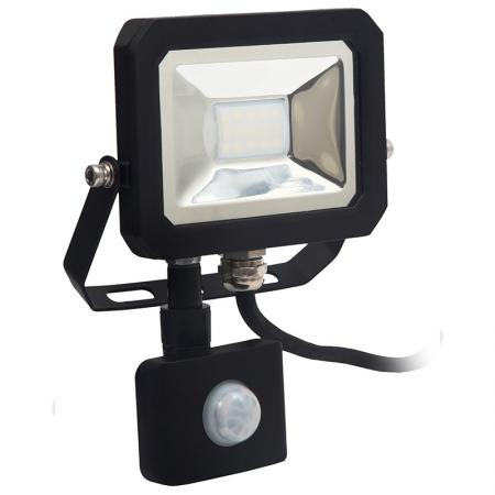 LED floodlight + PIR sensor 10W/4000K/SE - LF1021S