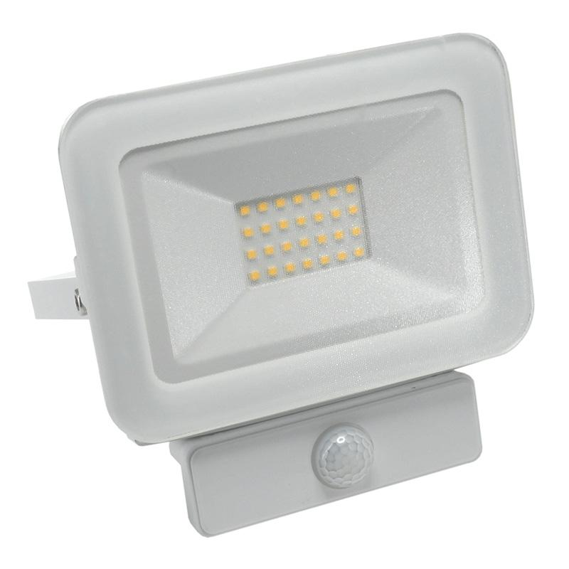 LED HQ floodlight 20W+PIR IP65 senzor/4000K/WH/PS - LF2122S