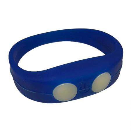 Blue bracelet with LED light - LW102