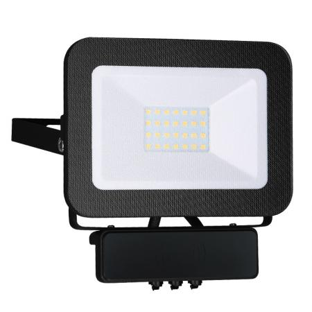 LED HQ floodlight 20W+MICRO IP65 senzor/4000K/BK/MS - LF2022MS