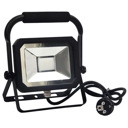 LED floodlight 20W+holder/4000K/BK/H - LF1022H
