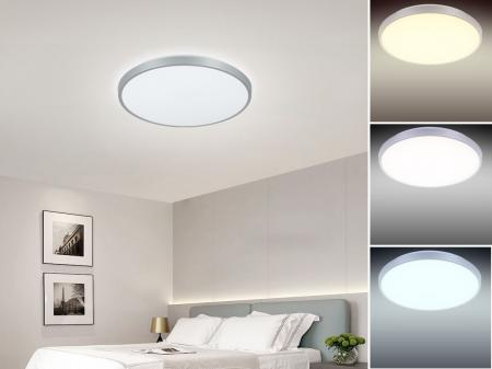 LED light OPAL+remote control 50W/CLR0/SMD/RC/SI - LC801A/SI